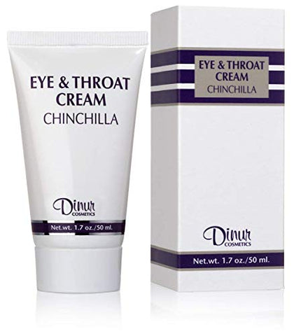 Dinur Cosmetics Essential Specialty Bundle consisting of Chinchilla Eye and Throat Cream for dryest skin, Peeling Cream, Micro Complex Scrub Cleanser and Blues Oil Free Eye Make-Up Remover