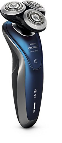 Philips Norelco S8950/91 Shaver 8900 Rechargeable Wet/Dry Electric Shaver With Click On Beard Styler