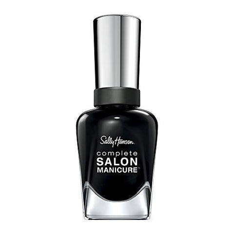 Sally Hansen - Complete Salon Manicure Nail Color, White To Black