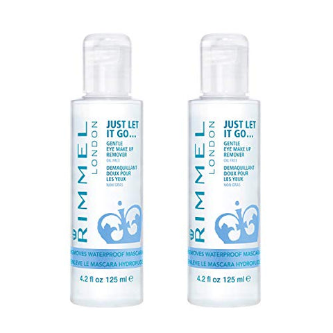 Rimmel Just Let It Go Eye Make Up Remover, 2 Count