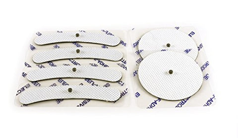 Verseo Permanent Hair Removal Conductive Patches for the Face, Body, Leg, Stomach, Bikini Line, Perf