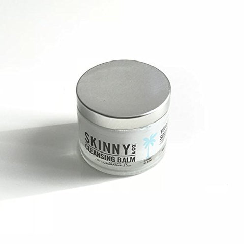 Skinny & Co. Calming Cleansing Balm & Makeup Remover  3 In 1 Formula, Makeup Remover, Cleanser & Moi