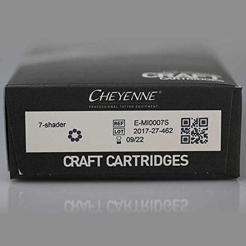 Cheyenne Craft Cartridge Needles - Box of 10 - 7-Liner