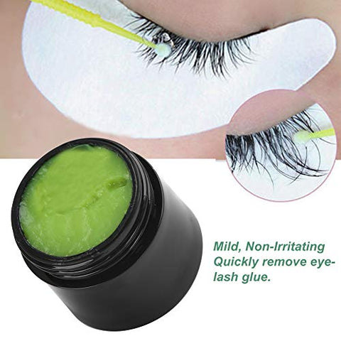 Eyelash Glue Remover, Fruit Flavor Eyelash Extension Glue Remover Removal Cream Makeup Tool Eyelash Extension Remover for Beauty Salon Household Use