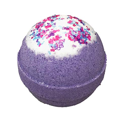 Unicorn Bubble Bath Bomb For Girls With Surprise Kids Necklace Inside By Two Sisters Spa. Large 99%