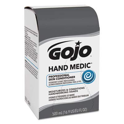 GOJO 8242 Hand Medic Professional Skin Conditioner, 500 ml Refill (Case of 6)