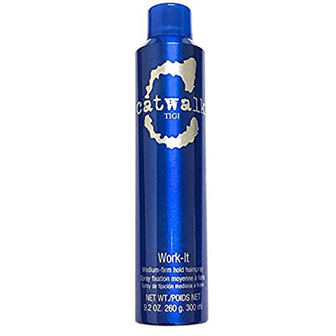 TIGI Catwalk Work-It Medium Firm Hold Hairspray 9.2 oz