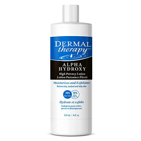 Dermal Therapy Alpha Hydroxy High Potency Lotion   Moisturizing And Exfoliating Treatment For Scaly,
