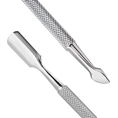 Cuticle Trimmer With Cuticle Pusher   Cuticle Remover Cuticle Nipper Professional Stainless Steel Cu