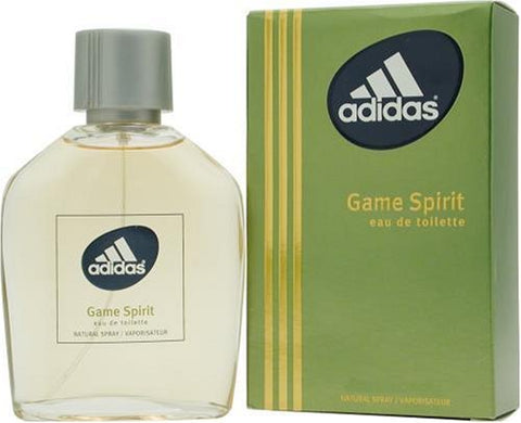 Adidas Game Spirit By Adidas For Men, Eau De Toilette Spray, 3.4-Ounce Bottle