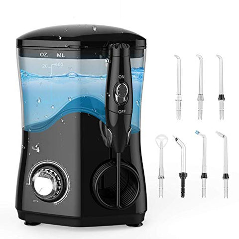 Water Flosser Cordless USB Rechargeable Portable, Water Dental Flosser for Braces Shower Kids, High Pulse Rechargeable Water Flossing Teeth Cleaner, Waterproof Cordless Dental Water Jet for Shower
