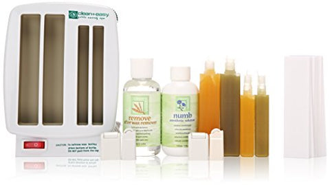 Clean + Easy Waxing Spa Petitie Kit (120V)