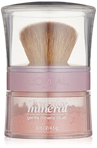 L'oreal Paris True Match Gentle Mineral Blush, Pinched Pink [486] 0.15 Oz