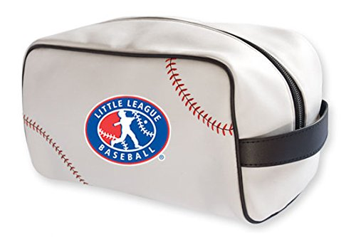 Zumer Sport Little League Baseball Actual Ball Leather Material Toiletry Bag