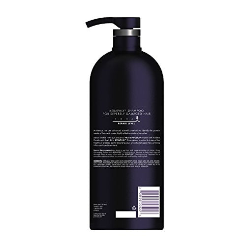 Nexxus Shampoo For Damaged Hair Keraphix With Protein Fusion Silicone Free With Keratin Protein And B