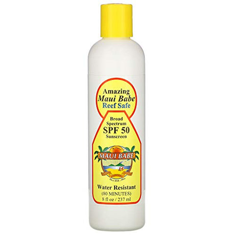 Maui Babe SPF 50 Sunscreen Lotion 8oz