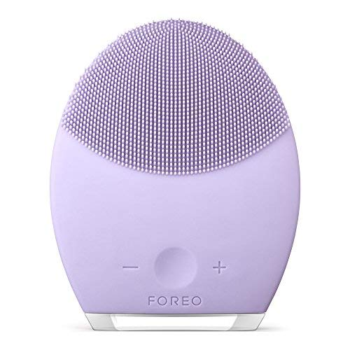 Foreo Luna 2 Facial Cleansing Brush And Portable Skin Care Device Made With Ultra Hygienic Soft Sili
