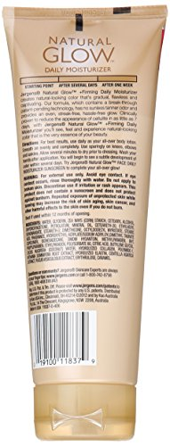Jergens Natural Glow +Firming Body Lotion, Fair To Medium Skin Tone, 7.5 Ounce Sunless Tanning Daily