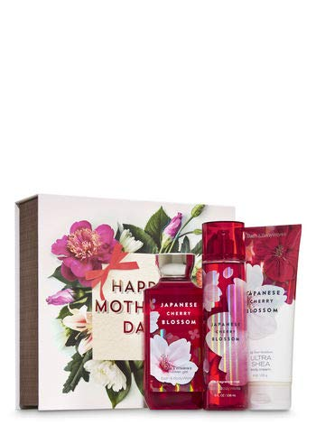 Bath and Bady Works JAPANESE CHERRY BLOSSOM Mother's Day box gift set