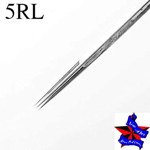 Tattoo Needles,New Star Tattoo 50pcs Disposable Sterilized Bugpin Needles Premium Quality Tattoo Needle Liners Size 1RL 3RL 5RL 7RL9RL for Tattoo Machine,Tattoo kit and Supplies (5RL)