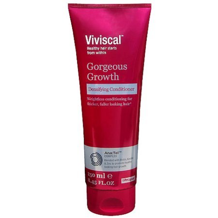 Viviscal Conditioner for dry & damaged hair - Improves density and Volume of hair -- ingredients included pea sprouts, grape seeds, with Biotin, Keratin and Zinc - All Hair Types (Pack of 2)