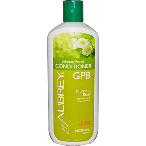 Gpb Balancing Protein Conditioner Rosemary Peppermint Aubrey Organics 11 Fl Oz Liquid
