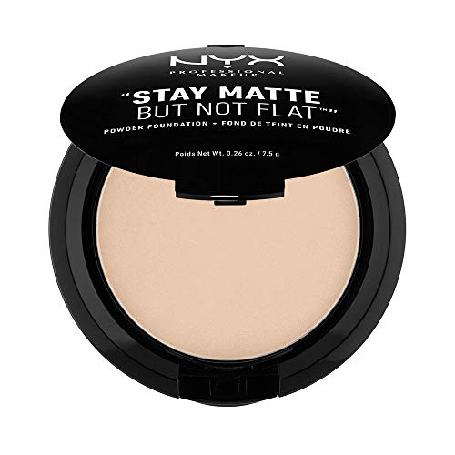 Nyx Cosmetics Stay Matte But Not Flat Powder Foundation Nude