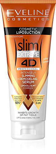 Eveline Slim Extreme 4 D Liposuction Body Serum, 8.80 Fluid Ounce