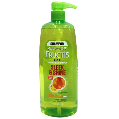 Garnier Fructis Conditioner SLEEK AND SHINE - 40 oz. - Pump