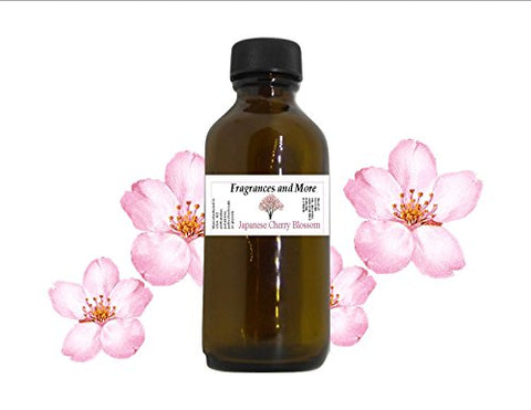 Japanese Cherry Blossom Fragrance Oil | For Soap Making| Candle Making| For Use With Diffusers| Add