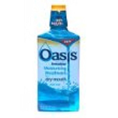 Oasis Moisturizing Mouthwash for Dry Mouth, Mild Mint - 16 oz