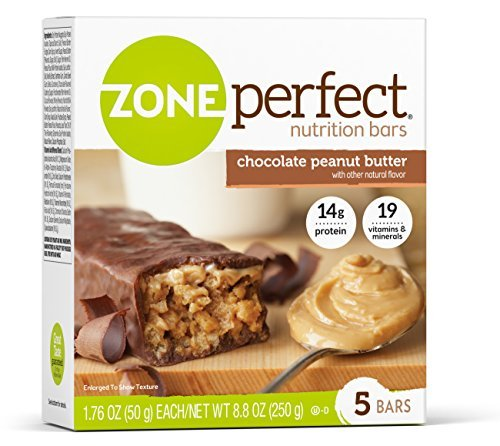 ZonePerfect Nutrition Bars, Chocolate Peanut Butter, 1.76 oz, 30 Count by Zone Perfect