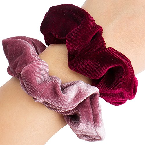 Ondder 6 Pcs Hair Scrunchies For Hair Velvet Blend Cheap Scrunchies Velvet Hair Bands Scrunchy Scrun