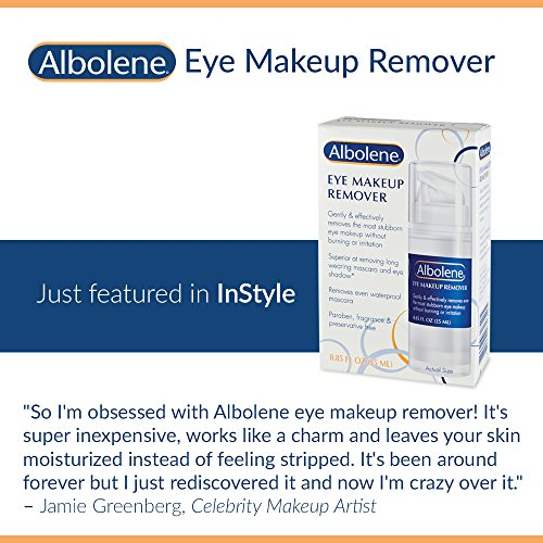 Albolene Eye Makeup Remover | Remove Makeup Without Burning Or Irritation | Takes Off Waterproof Mas