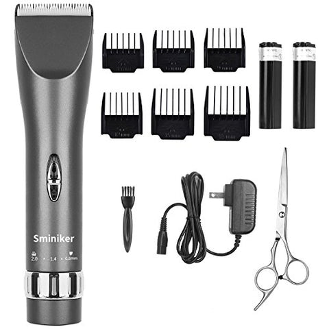 Sminiker Professional Hair Clippers Cordless Haircut Machine Barber Shavers Rechargeable Hair Cuttin