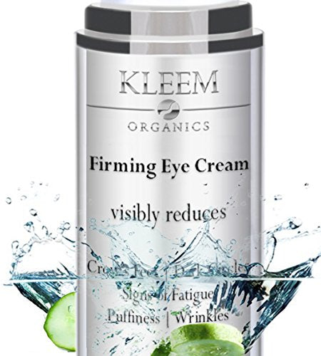 NEW Anti Aging Eye Cream for Dark Circles and Puffiness that Reduces Eye Bags, Crow's Feet, Fine Lines, and Sagginess in ONLY 4 WEEKS. The Most Effective Under Eye Cream for Wrinkles