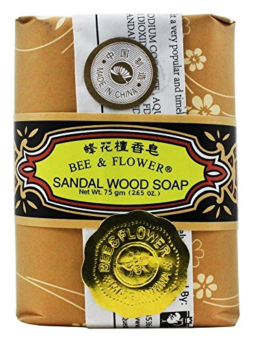 Bee & Flower - Chinese Sandalwood Soap 2.65oz - 12/case