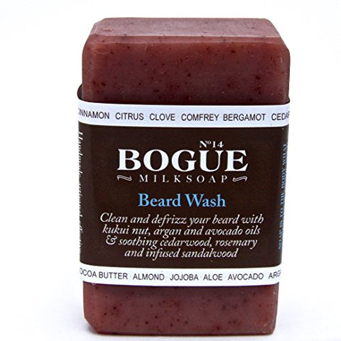 Bogue Goat Milk Soap   Nâ°14 Beard Wash 'Chiefs Peak Blend' Clean And Defrizz Your Beard With Kukui