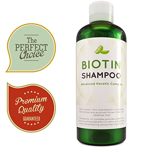 Natural Hair Loss Shampoo For Men And Women With Biotin For Hair Growth â?? Dht Blocker For Thicker