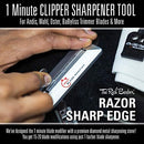 Image of The Rich Barber 10 Second Blade Setter & 1 Minute Blade Modifier Set | Zero Gap Tool & Trimmer Sharp