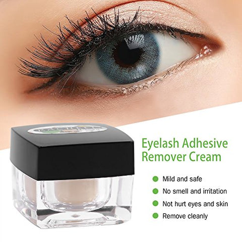 Eyelash Extension Glue Remover, 5g Professional Cream Remover