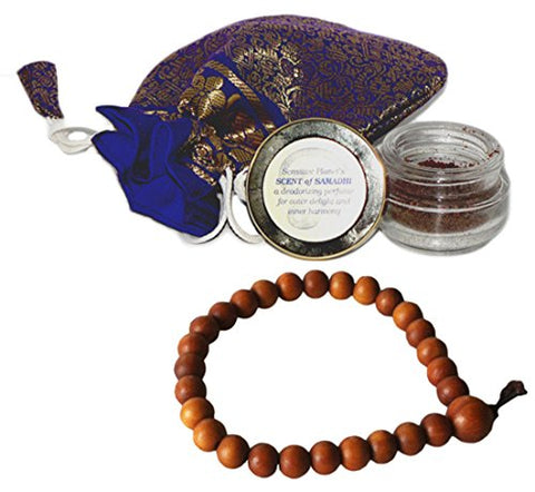 Scent Of Samadhi With Scented Wrist Mala (2 Items)