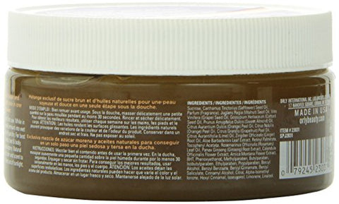 Orly Citrus Sugar Fix Moisturizing Scrub, 8 Ounce
