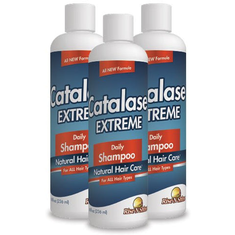 Catalase Extreme Shampoo Daily Anti Aging Shampoo For Men And Women 8 Oz