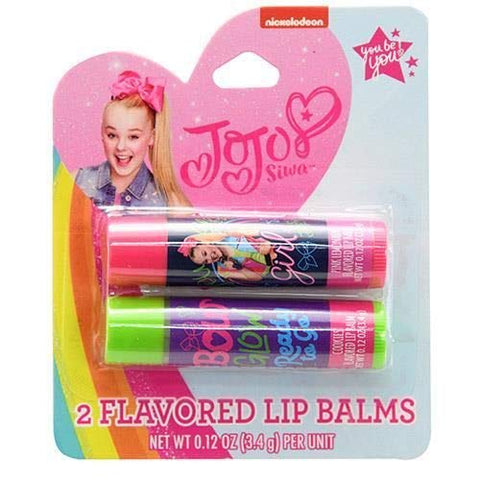 JoJo Siwa Girls Flavored Lip Balm Set 2 Pieces