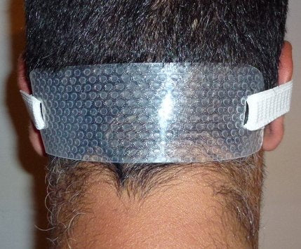 Quality Time Neck Hair Guide   A Neckline Template For Shaving And Keeping A Clean And Straight Neck