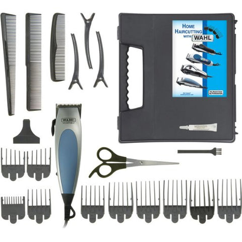 Wahl 9243-517N 22 Piece HomePro Hair Cutting Kit With Video Tape