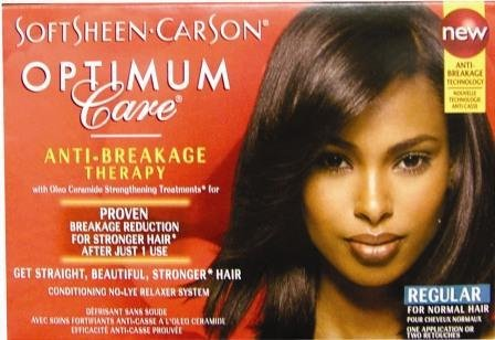 Optimum Care Salon Collection No-Lye Relaxer-Regular Case Pack 6