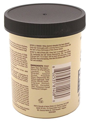 Tcb Hair Relaxer No Base Creme 7.5 Ounce Regular Jar (221ml) (6 Pack)