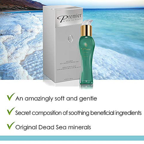 Premier Dead Sea Classic Eye Serum, Hypoallergenic, Age Defying, Helps Minimize Wrinkles, Dark Circl